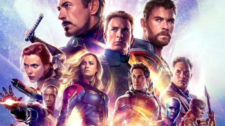 avengers endgame cast poster