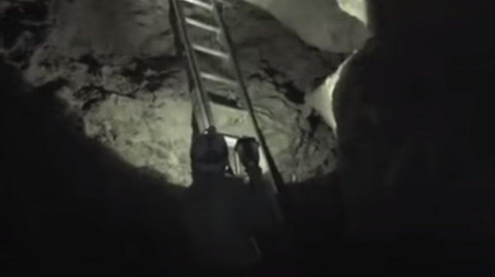 midnight terror cave footage screenshot