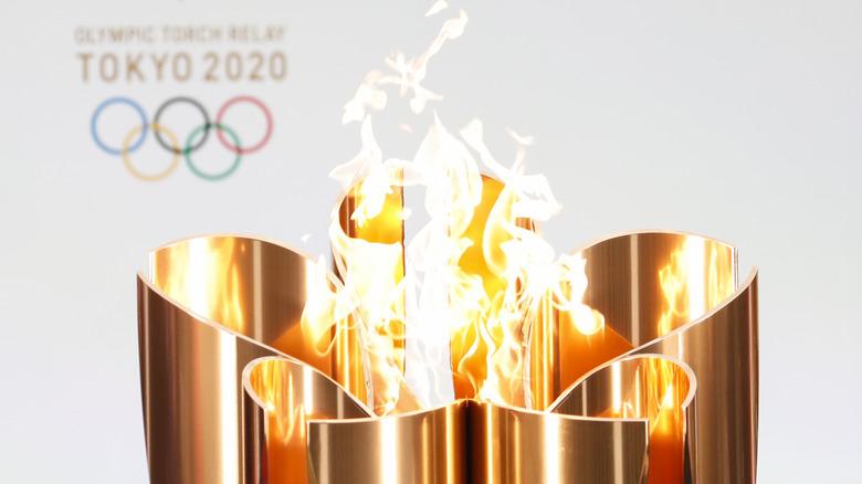 tokyo olympic cauldron