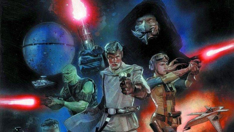 Star Wars comic book based on the original script