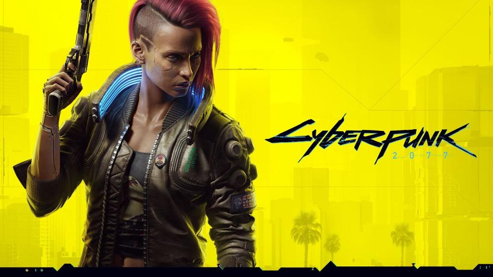 Cover art, 'Cyberpunk 2077'