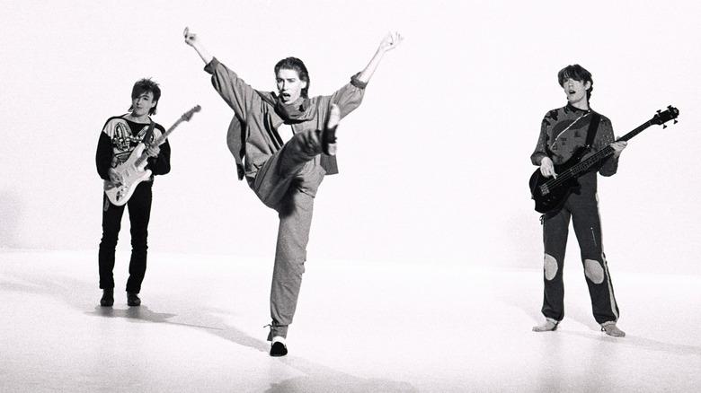 John Ashton, Richard Butler, Tim Butler performing