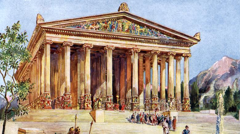 Illustration Temple of Artemis