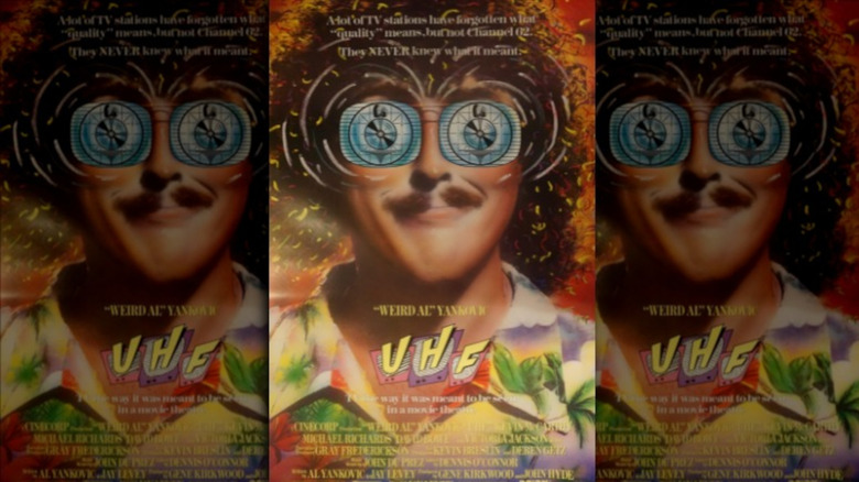"""Theatrical poster for """"UHF"""""""