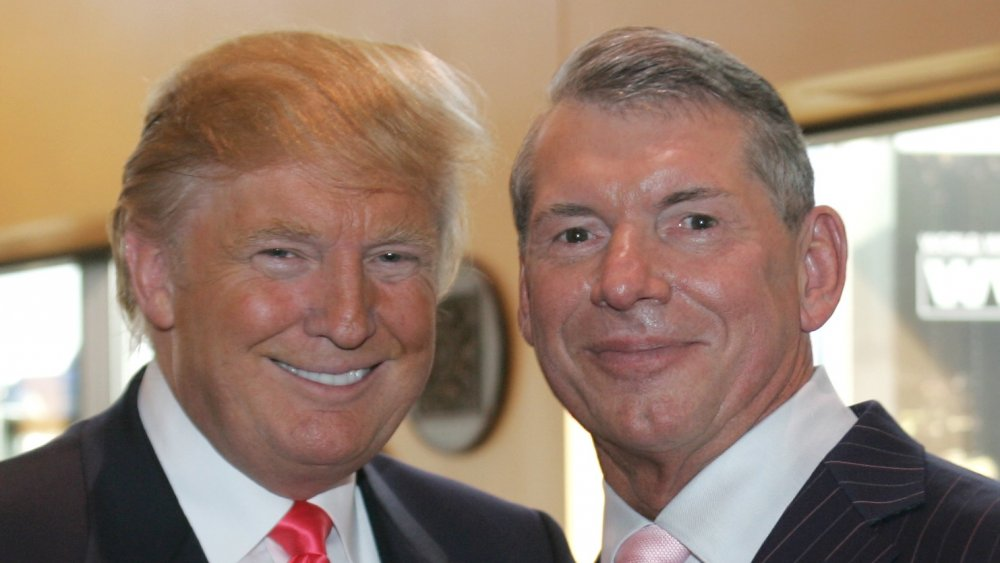 Vince McMahon, donald trump