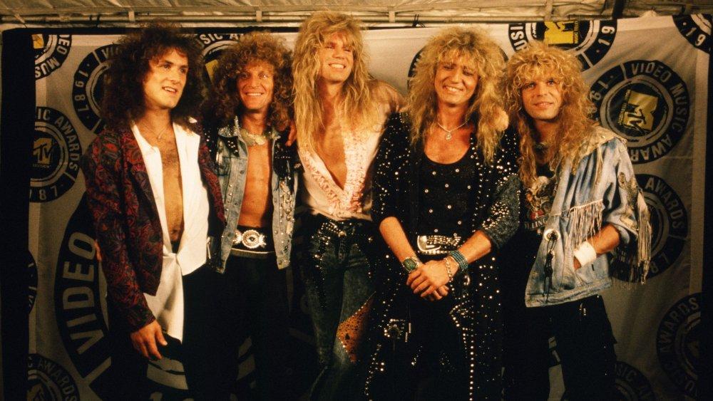 Whitesnake in 1987