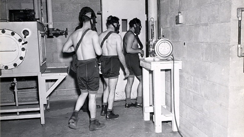 mustard gas experiment test subjects
