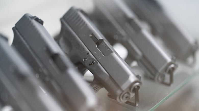 row of Guns