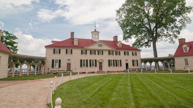 George Washington's house at Mount Vernon