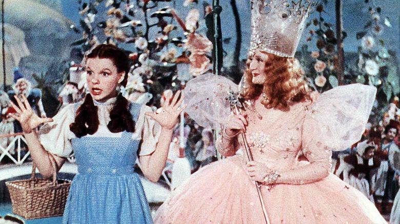 Judy Garland in Dorothy costume