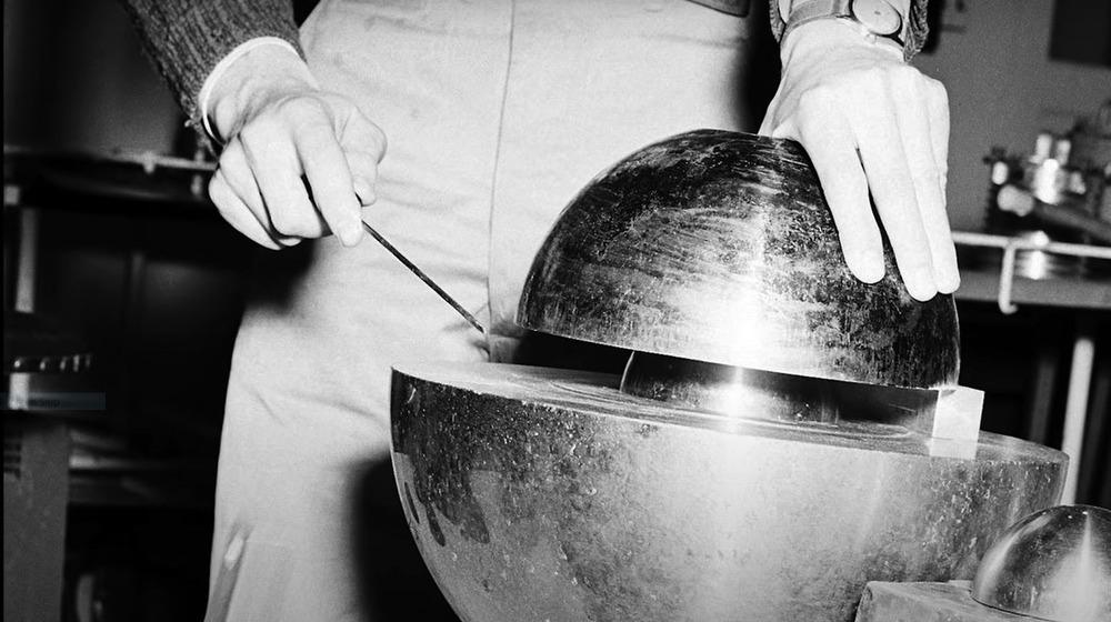 'Demon core' during testing, 1946