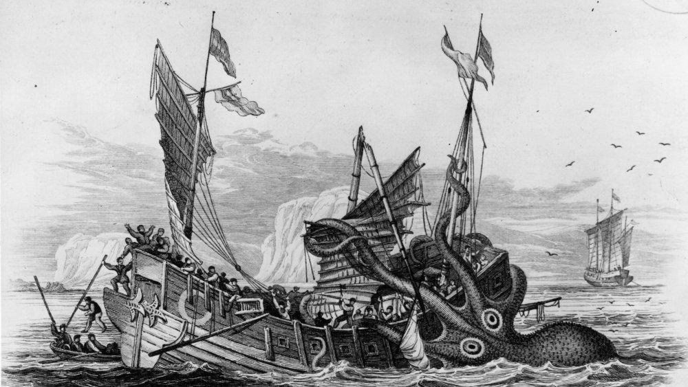 Kraken vs ship