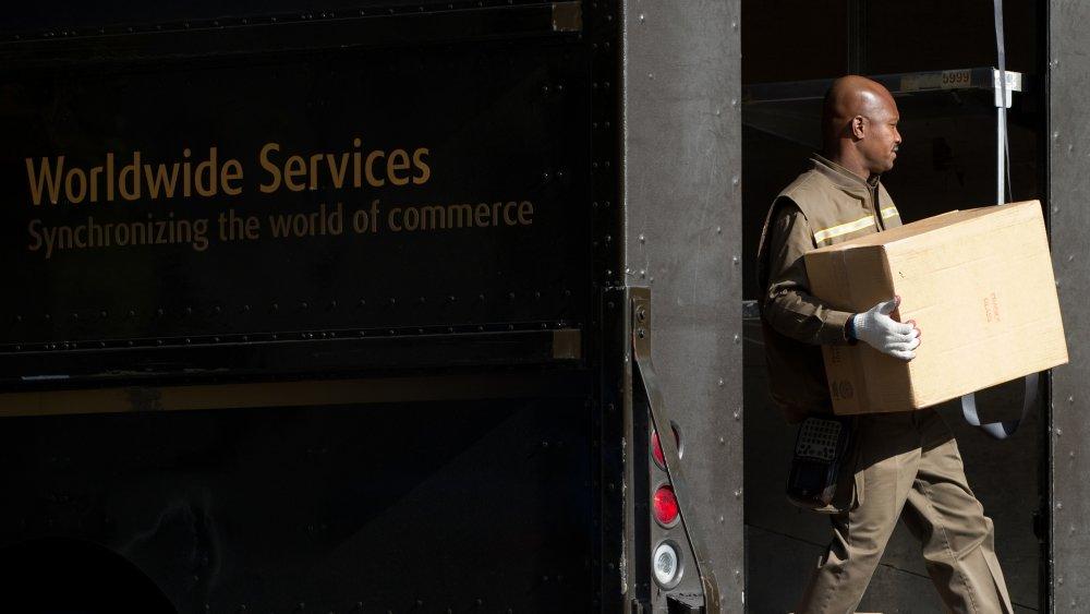 UPS deliver