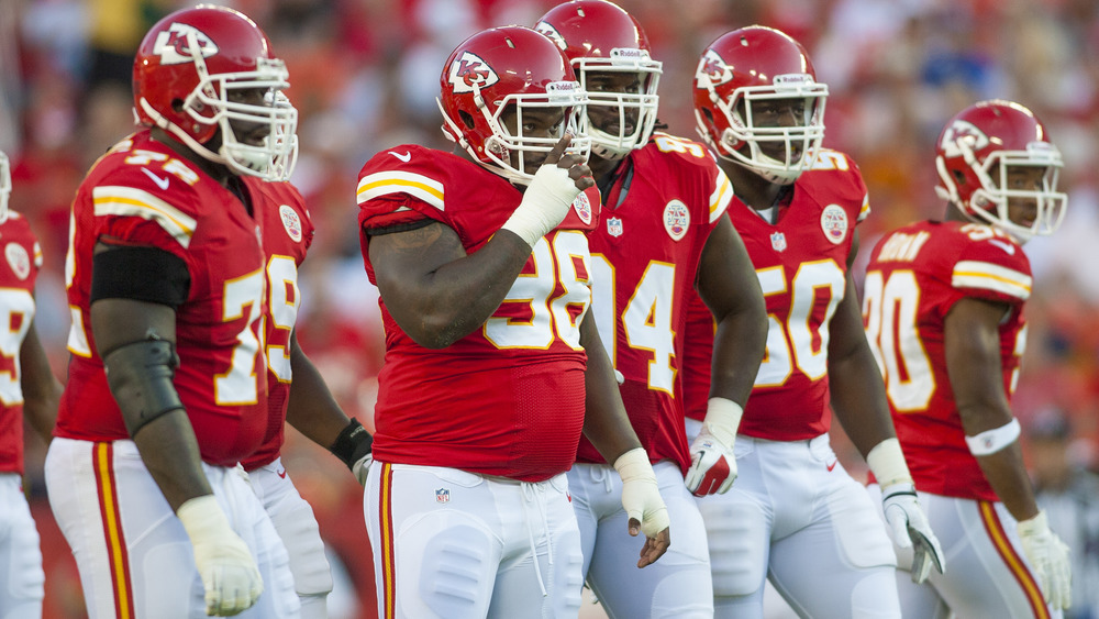Kansas City Chiefs football players