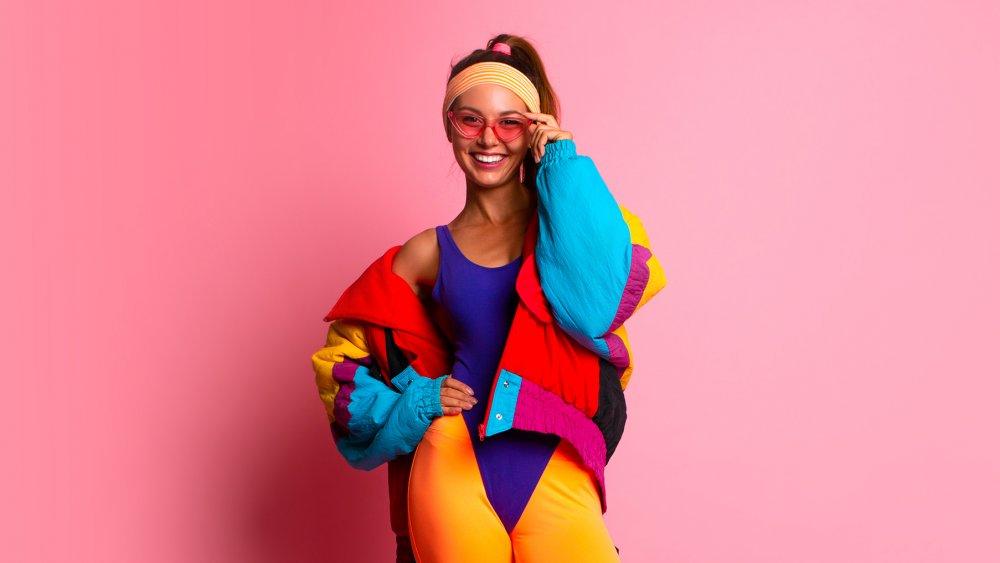 Girl in the '80s