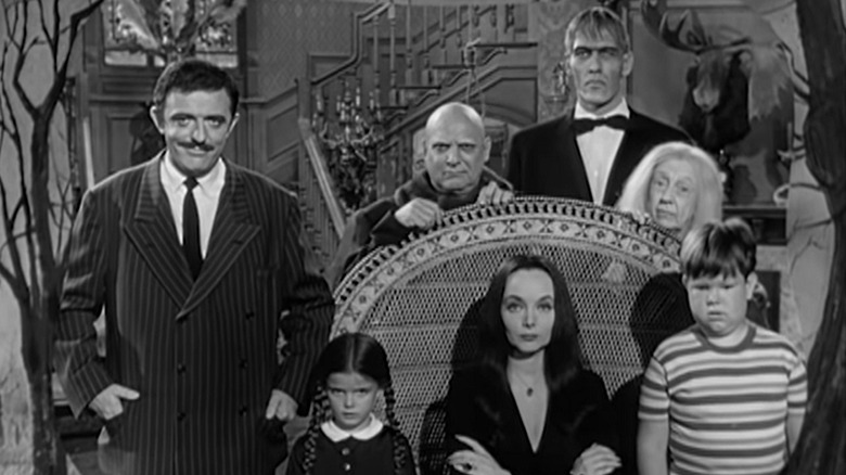 """The cast of 1964 """"The Addams Family"""""""