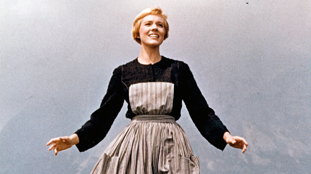 """Julie Andrews in the opening scene of """"The Sound of Music"""""""