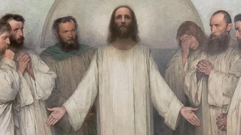 La Prière Sacerdotale (The high priestly Prayer), Eugene Burnand