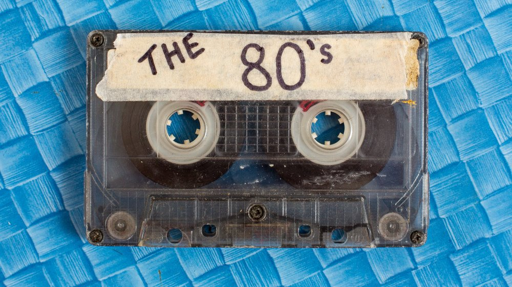 """A mixtape marked """"The 80's"""""""