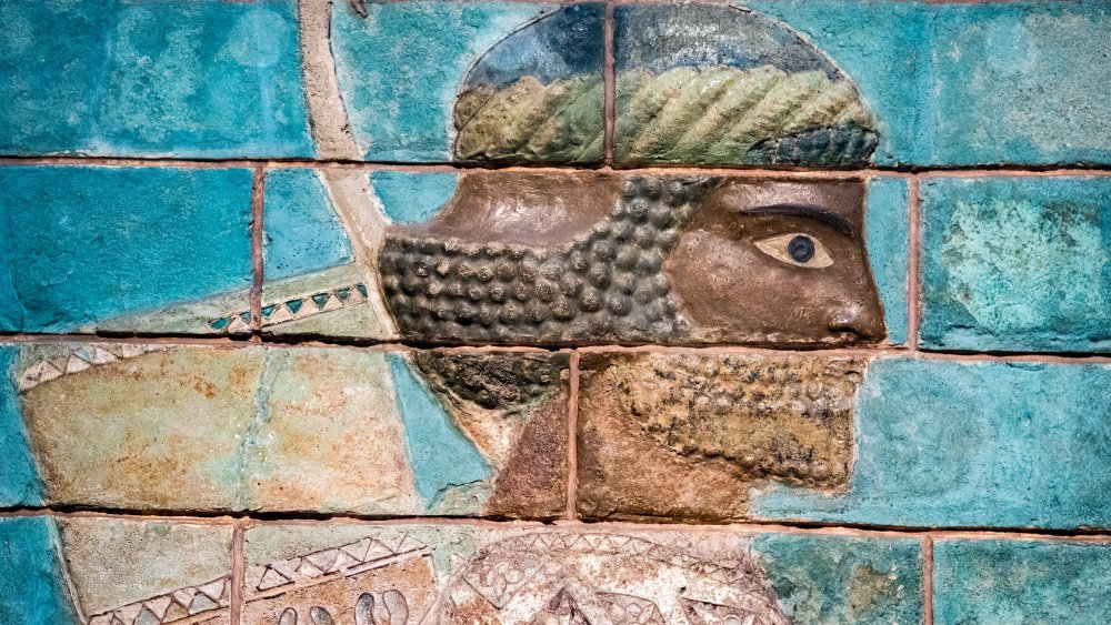 Assyrian painting in Mesopotamia