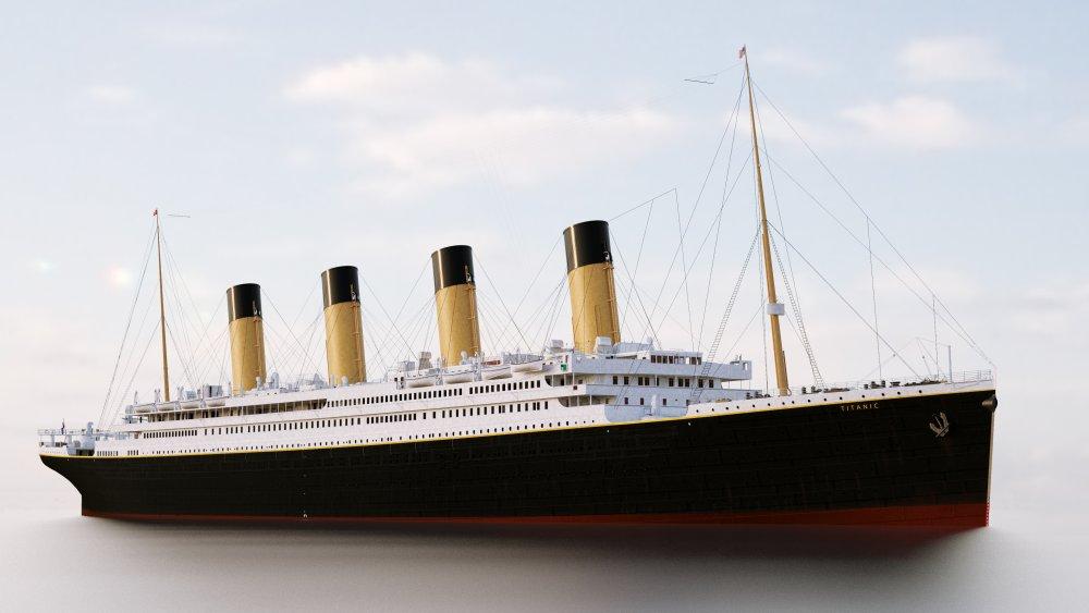 Rendering of The Titanic