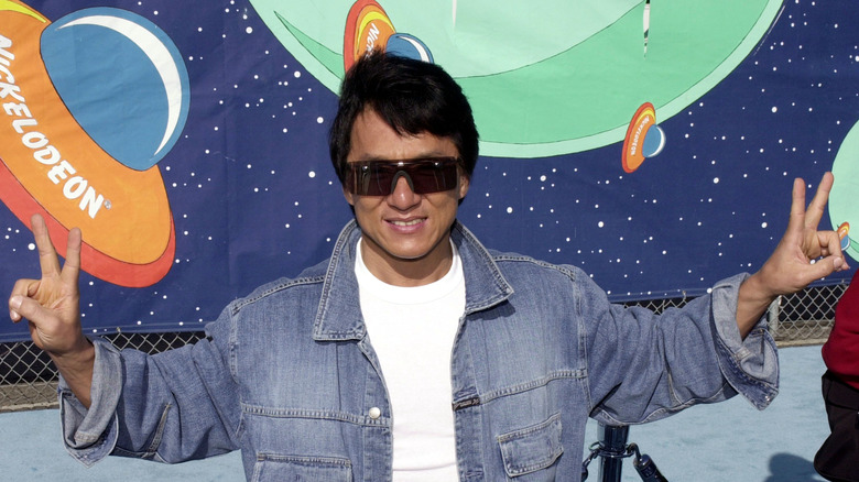 Jackie Chan in 2001
