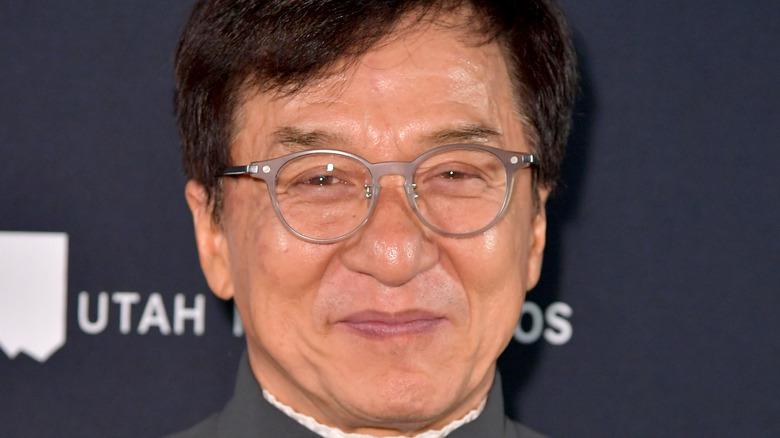 Jackie Chan close-up