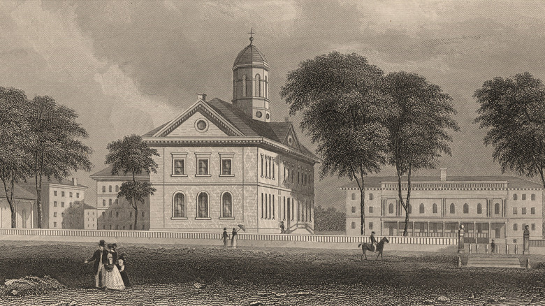 Harvard University in 18th century