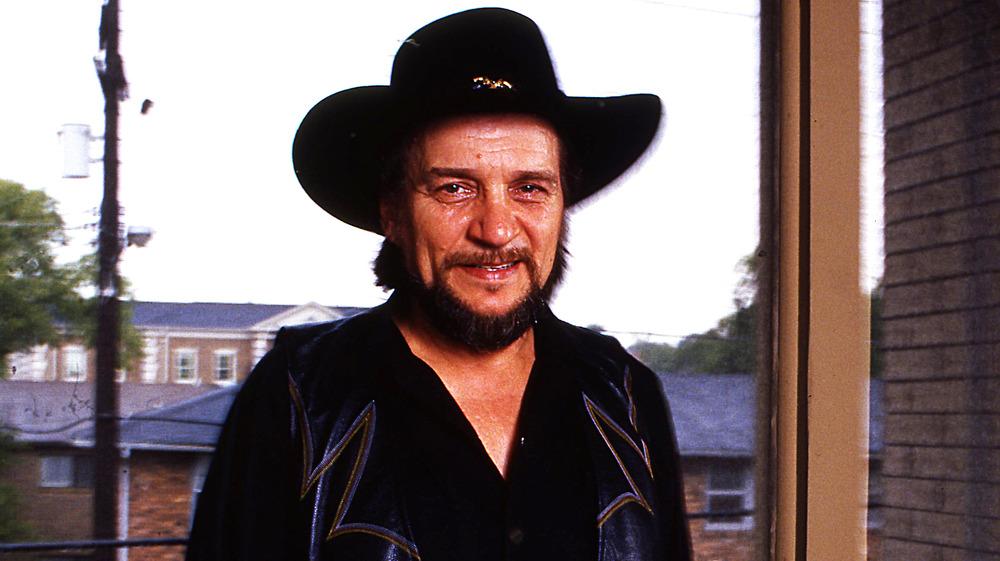Outlaw country singer Waylon Jennings