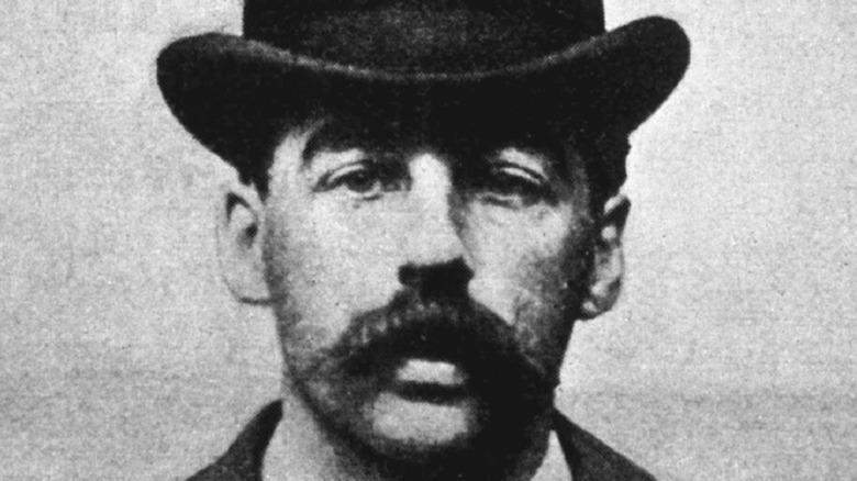 portrait of H.H. Holmes