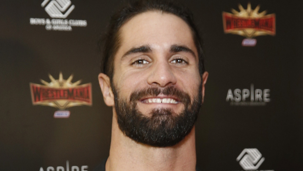 Seth Rollins at WWE event