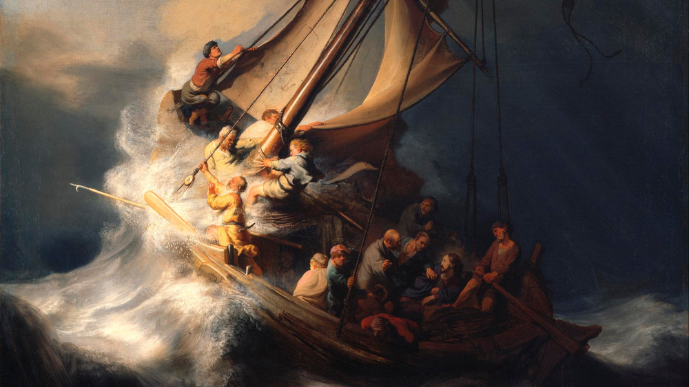 Rembrandt's 'Sea of Galilee'