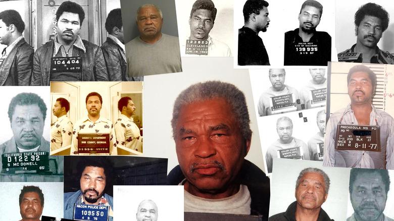 Samuel Little mugshot collage