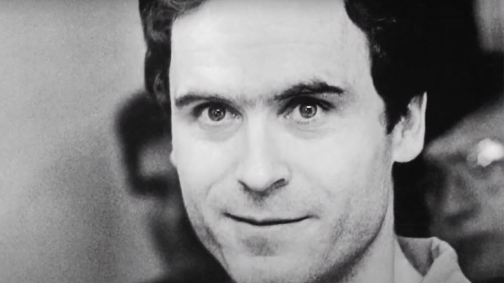 Ted Bundy smirk