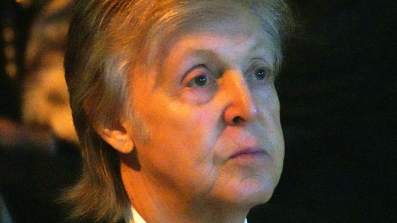 Paul McCartney serious expression