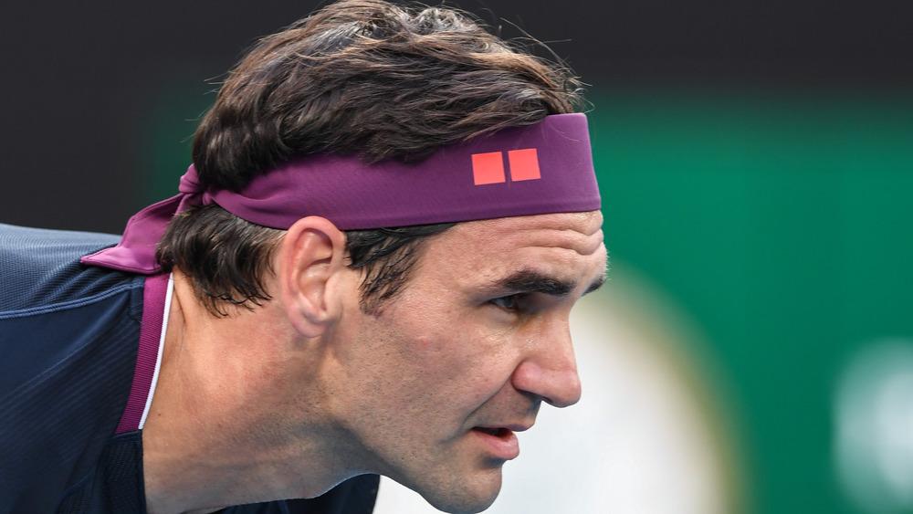 Roger Federer in competition