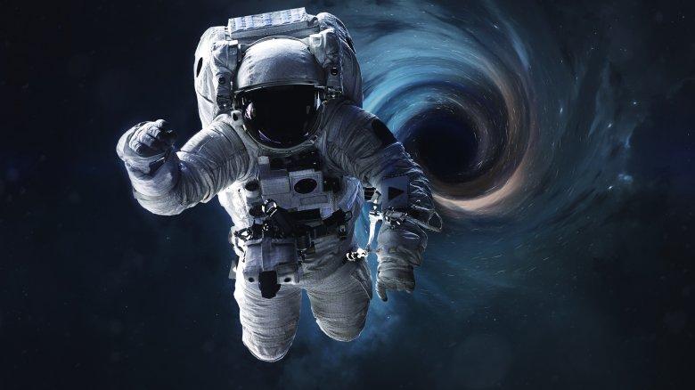 Black Hole, Close, Earth, Astronaut