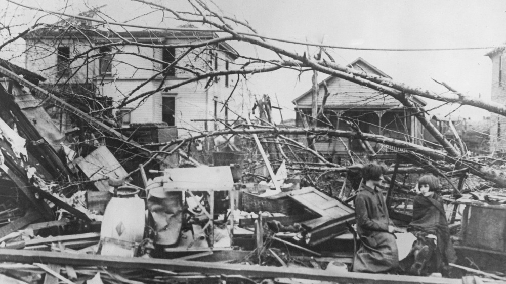 Tri-State Tornado damage