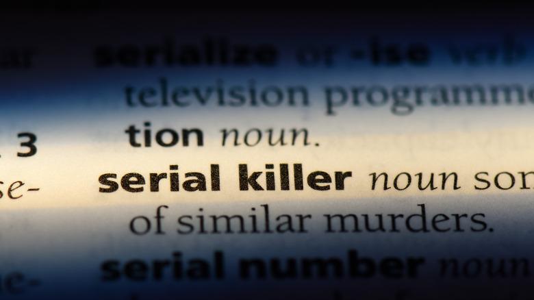 serial killer definition