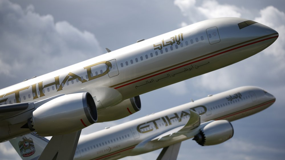 etihad airways residence airplane