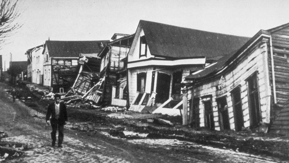 Valdivia, Chile earthquake damage
