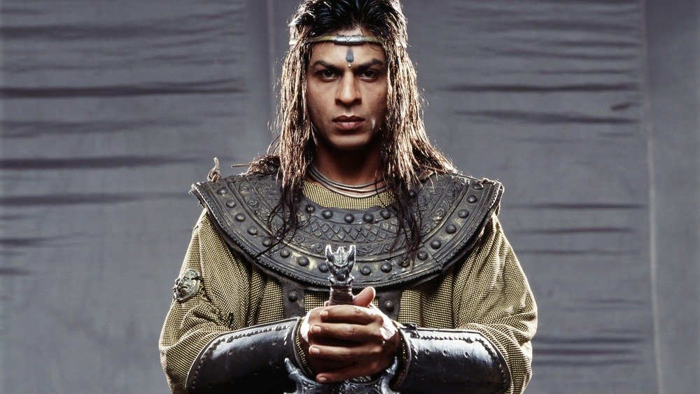 Shah Rukh Khan as Ashoka in the Indian film