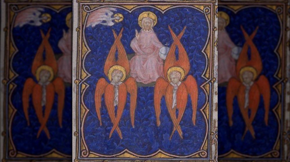 Six-winged seraphim