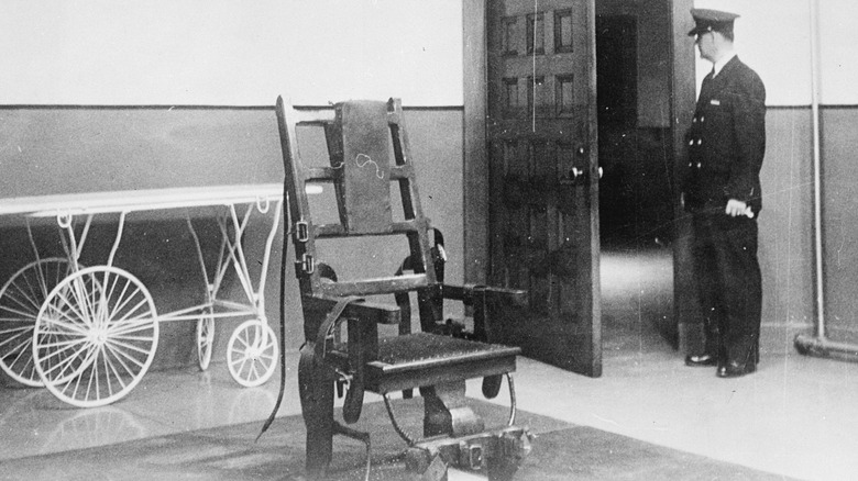 empty electric chair