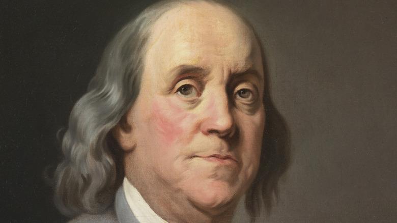 Portrait of Benjamin Franklin