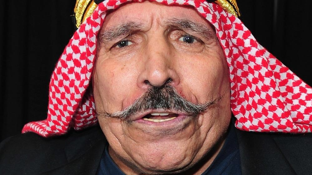 wrestling legend The Iron Sheik