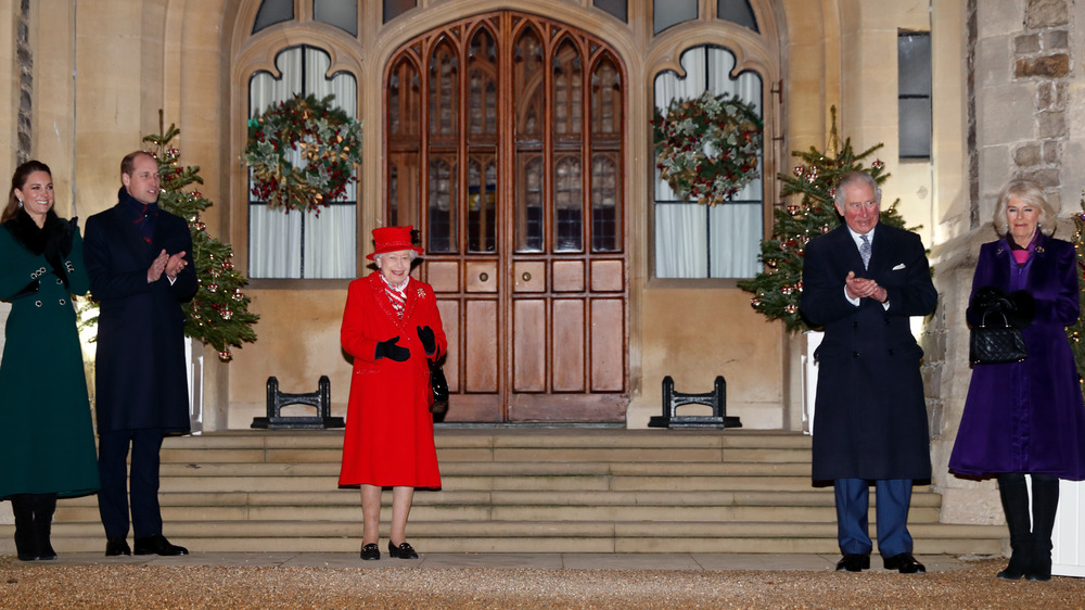 royal family, England, Queen Elizabeth II, Prince Charles, Prince William