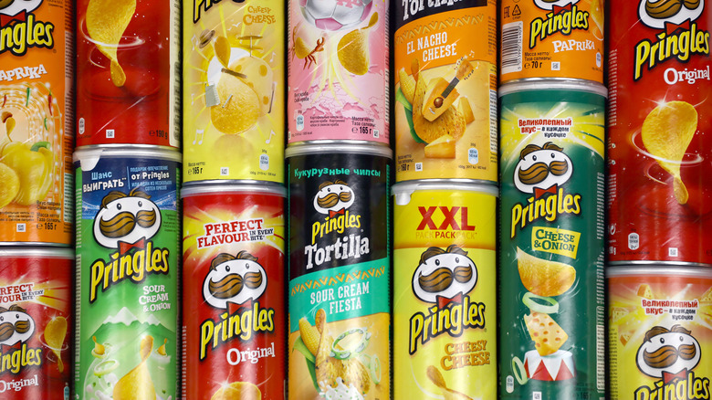 Pringles containers