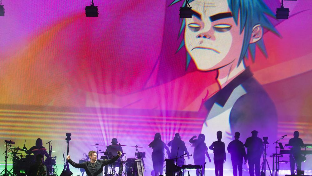 Gorillaz performs, 2018