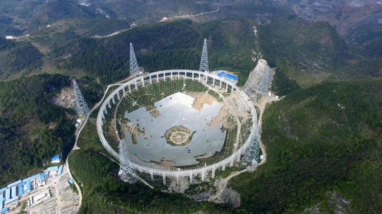 FAST telescope in Pingtang